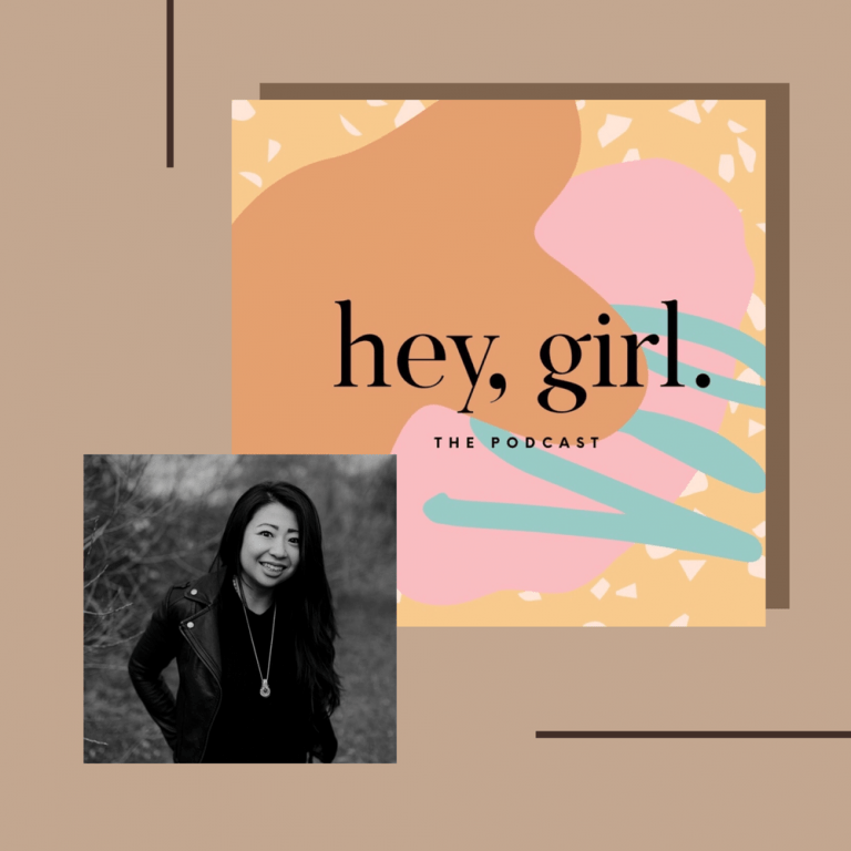 Portrait of Mimi Young, founder of Ceremonie and shamanic intuitive and occultist, featured on Hey Girl Podcast